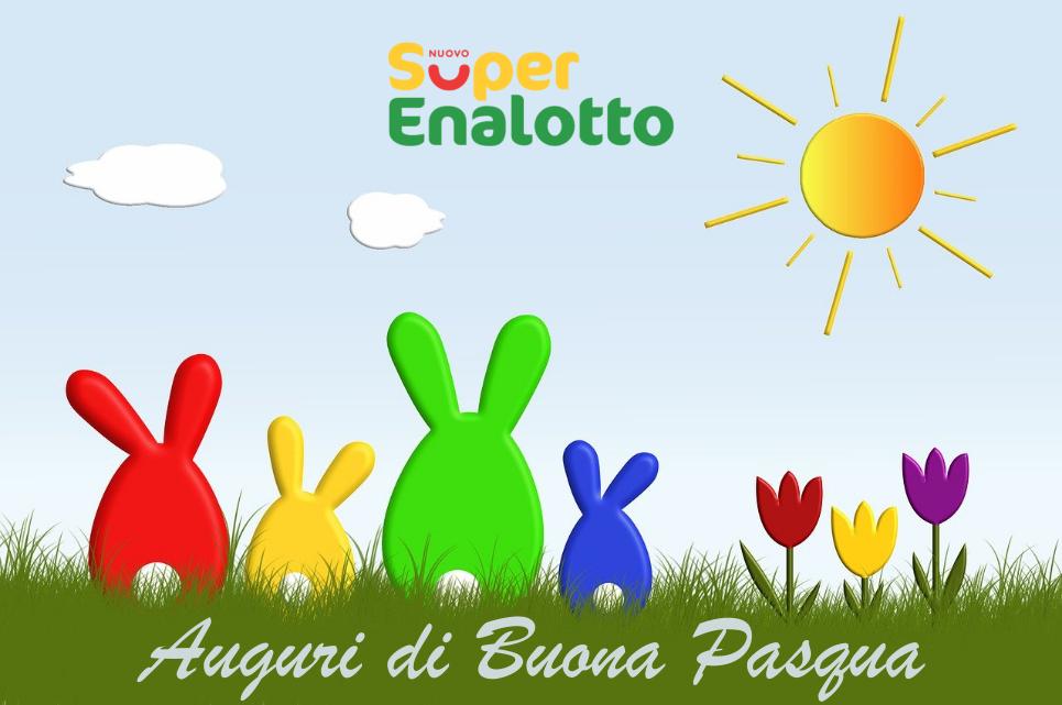 SuperEnalotto di Pasqua: tre 5 da 84mila euro
